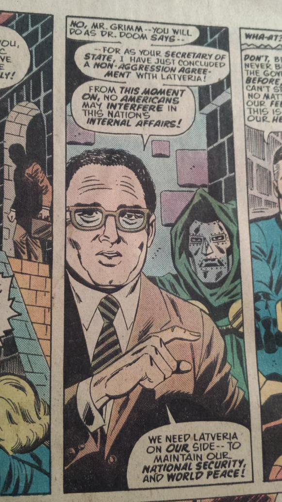 Remember when Henry Kissinger signed a non-aggression pact with Doctor Doom? http://t.co/YRwgjYu7QB