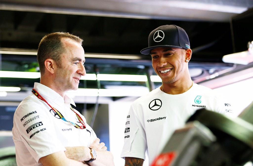 Congrats to #W05LDCHAMPION @MercedesAMGF1 - a first class win from @LewisHamilton #SpeedtoLead #F1 http://t.co/nqNWrcjE6t