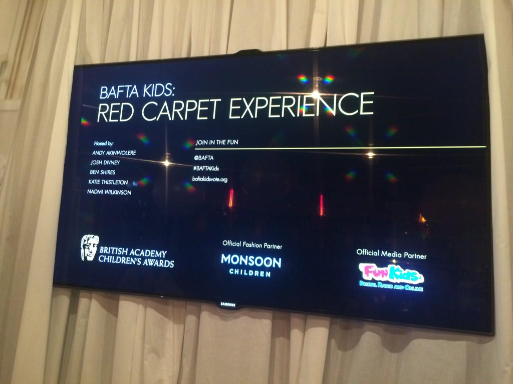 RT @BAFTA: Ahead of the Children's Awards, we're holding a special #BAFTAKids Red Carpet Experience at @RoundhouseLDN! http://t.co/nIi5TWn5…