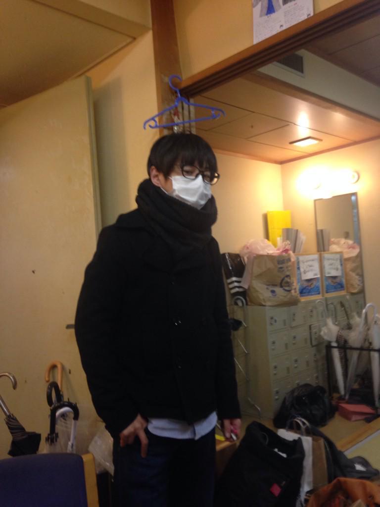 たっちゃんが誕生日やぞー! むちゃくちゃ風邪引いてるぞー! 30歳やぞー! http://t.co/1BMWZpcTYv