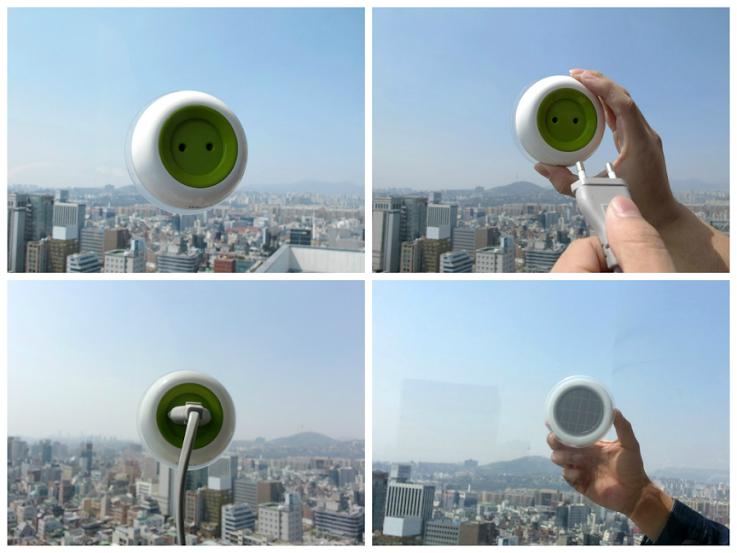 GUIDA all'uso: Presa di corrente, plug-in sulla finestra a casa e in ufficio per l'energia solare