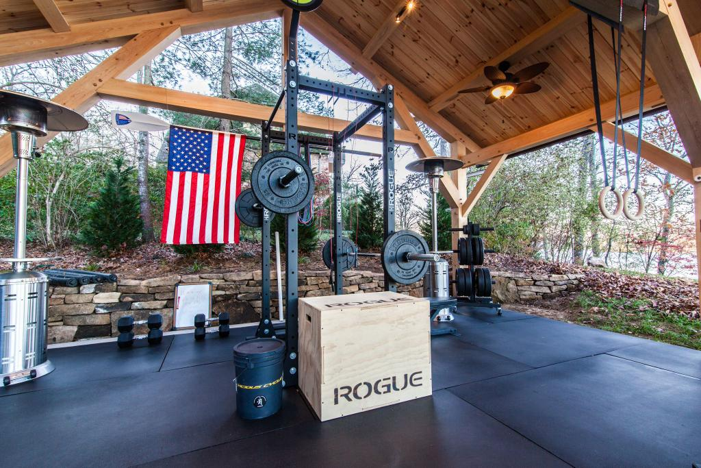 Rogue fitness on twitter quot pretty cool outdoor setup http