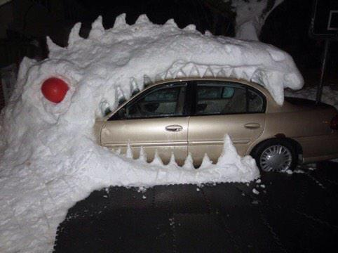 Very creative MT @Burkie716: from Mikaela Lake Hamburg NY http://t.co/elxuqsV7dY