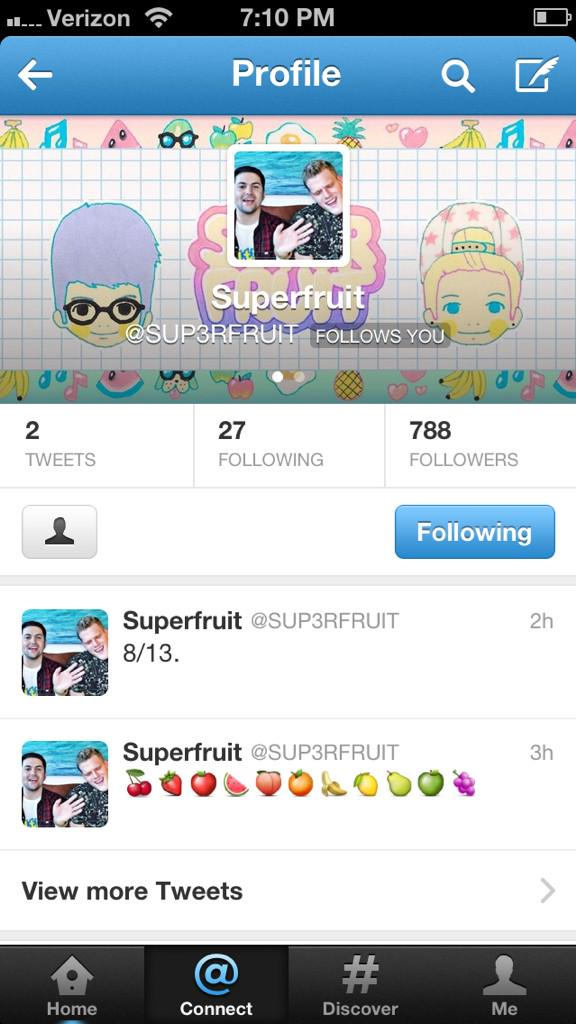 Do you guys remember how this all started?! SO PROUD of my @SUP3RFRUIT babes. #VoteSuperfruit http://t.co/zVvQx8FOAb
