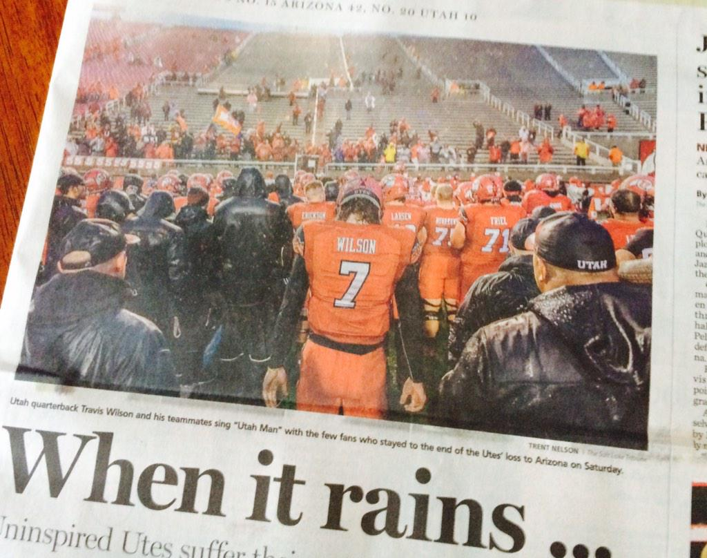Another great example today in @sltrib of @trenthead telling the story with a single pic. Great work! http://t.co/P8qMZ773GV