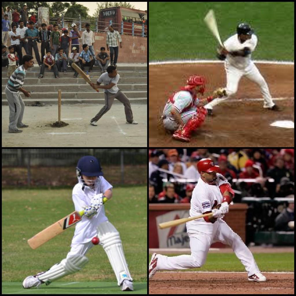 John Peabody On Twitter Baseball Vs Cricket Http T Co