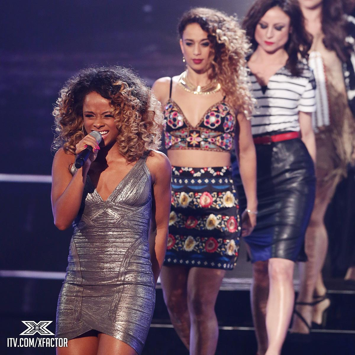 """Louis: """"You get better and better and BETTER!"""" @FleurEast #XFactorResults http://t.co/NxXcugs5ON"""