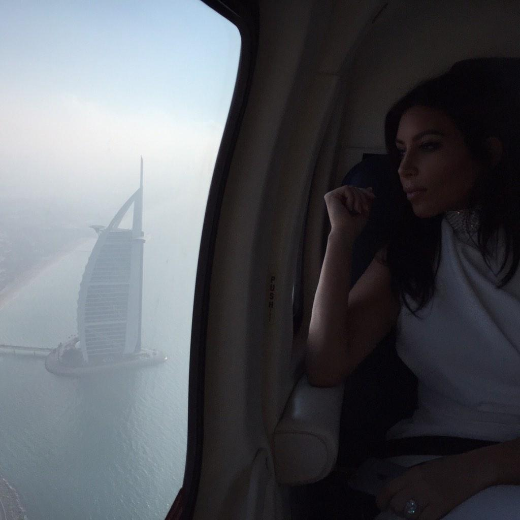 Earlier today helicopter ride to the desert over looking Burj Al Arab http://t.co/wmQNUcuQhX