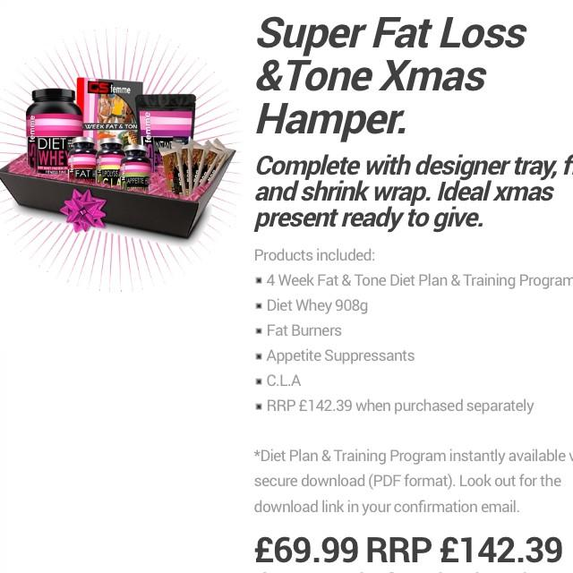 Gym ladies ? Get our weight loss and toning hamper plus diet and training plan & save £73 http://t.co/KfKTrprPGU http://t.co/kickjjWHvh