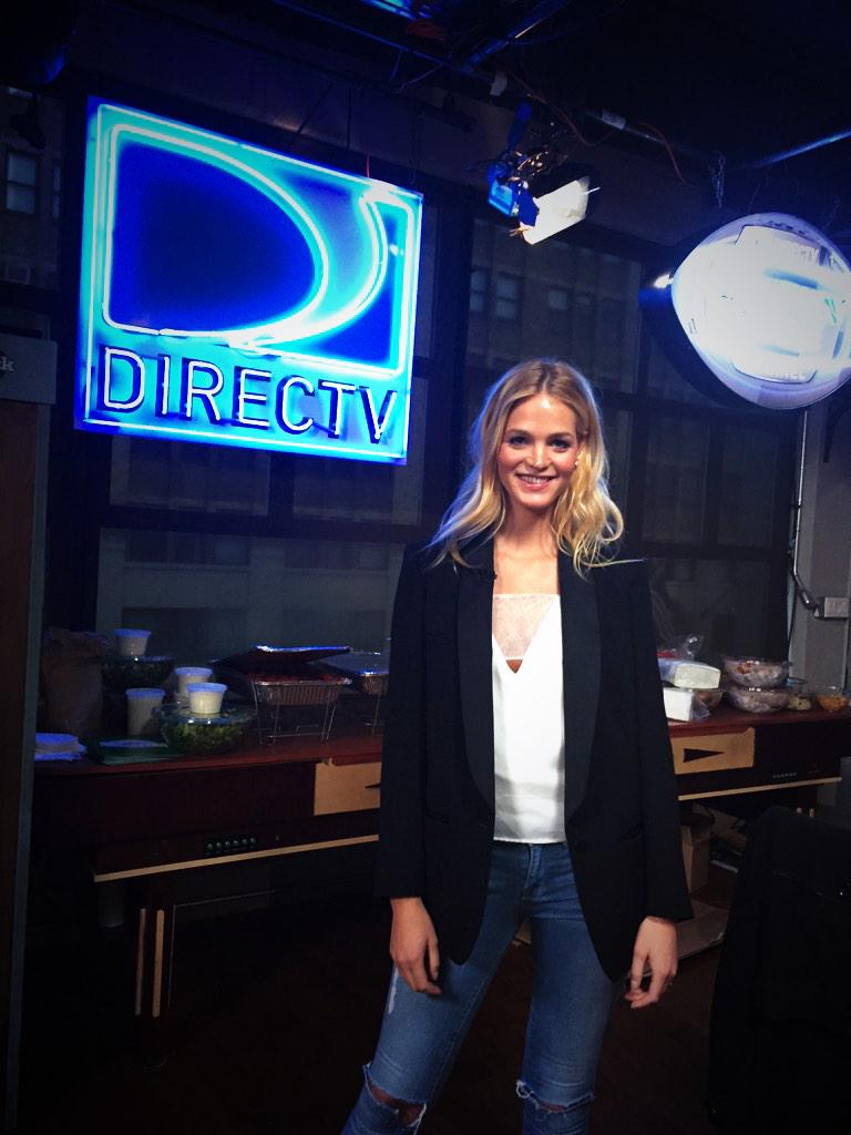 RT @DIRECTV: Our fav supermodel @ErinHeatherton + @TheNorthwest is here for her interview w @heykayadams & @portajonritchie! http://t.co/ci…