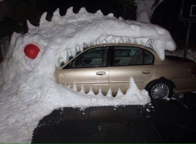 Winter antics in Buffalo, NY http://t.co/TWK9fX5Chy