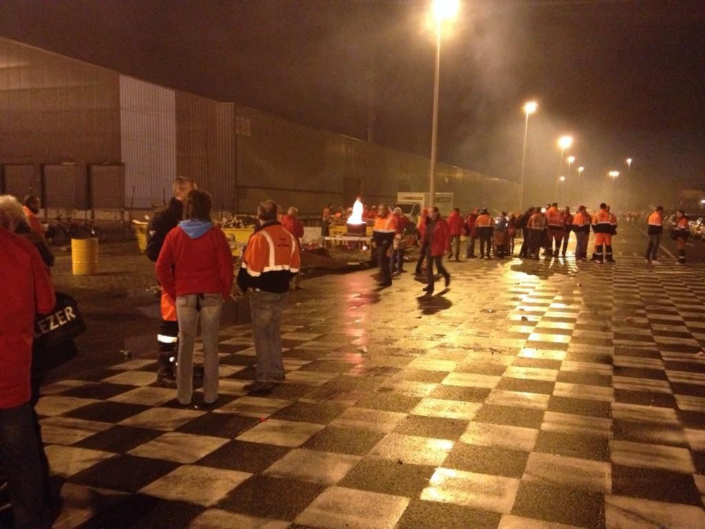 今天全国三大工会在荷语区安特卫普等城市交通枢纽进行24小时串联大罢工