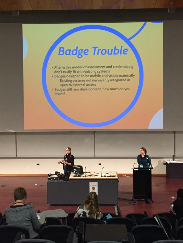 "Badge trouble: ""badges are designed to travel, but that worries people in universities"" #openbadges #ascilite2014 http://t.co/f818ASpmJH"