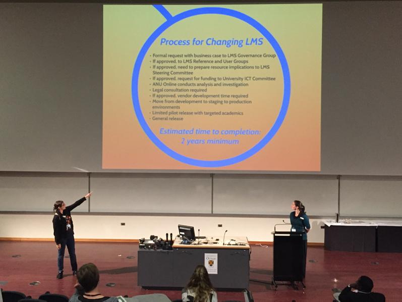 "This! This is why you cannot ""just turn it on in Moodle."" #openbadges #insignia. Go @katiedigc #ascilite2014 http://t.co/pSzhPhnSrt"