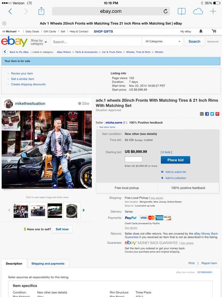 Exclusive EBay Listing   http://t.co/Xa2MZJZON2 http://t.co/d80eVcRCsp