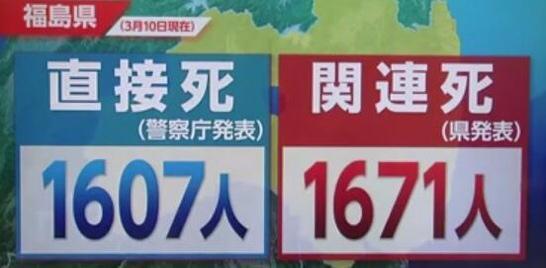 福島県での原発爆発事件の被害者。死亡人数。自殺もある。 http://t.co/ioNID1JTU7