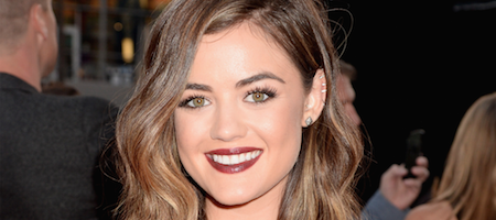 Lucy Hale shows off a brand-new haircut at the #AMAs: http://t.co/xay1qR2ovJ http://t.co/HyFue8Pshk
