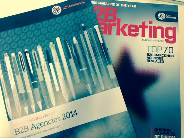 This week our monthly mag plus Agencies Report will be landing on your doorsteps... #Top70B2BAgencies http://t.co/YagcK2yIKi