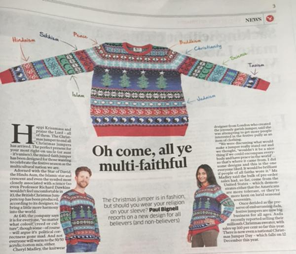 Our #Christmas jumper collaboration with @BritishXmas has made it into the @Independent! http://t.co/gHDnqhhmV8 http://t.co/ijUuKoTnbs