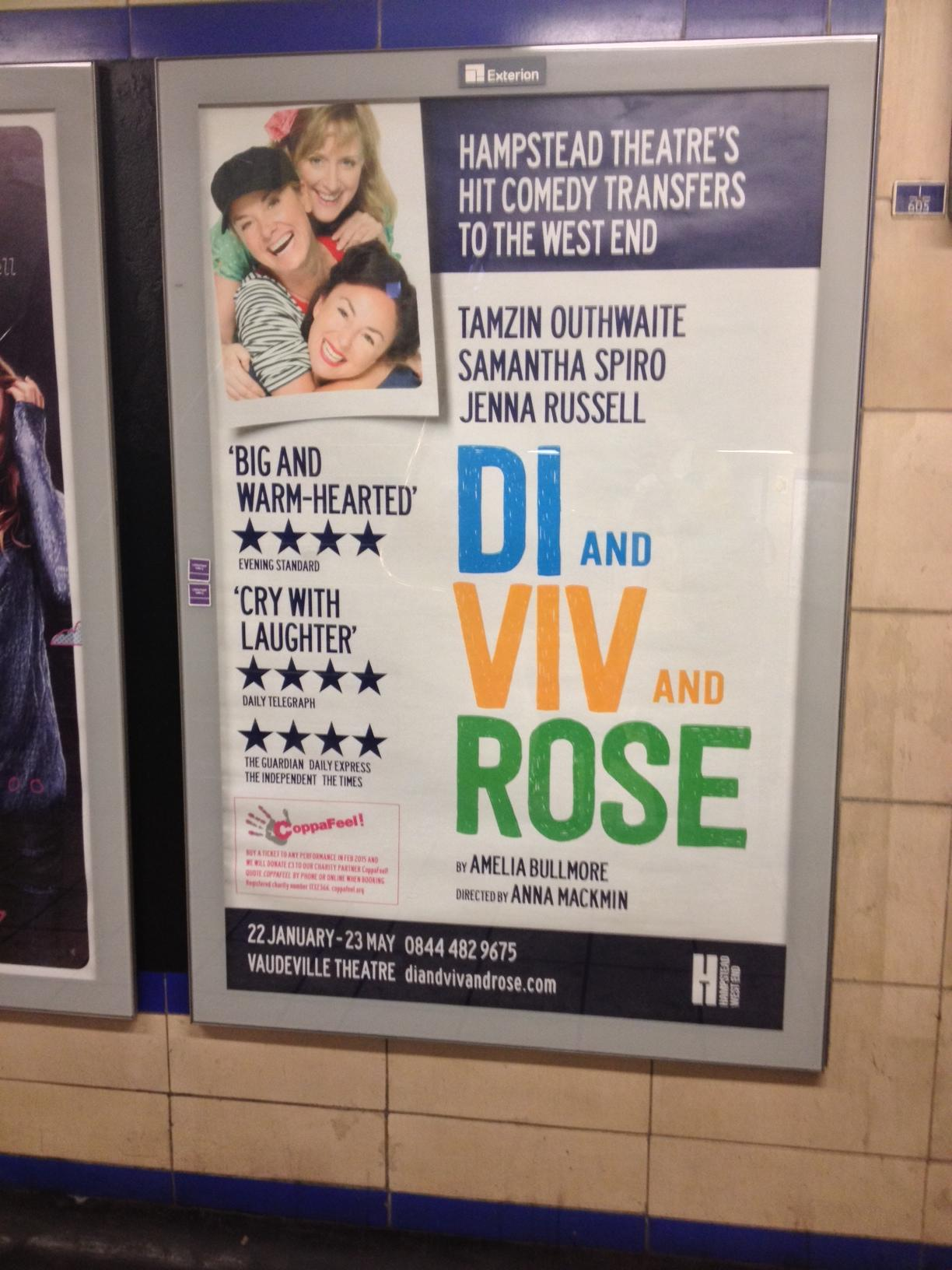 RT @DiVivandRose: We're on the tube! Can you guess where we are? Clue: It's in East London + you can walk to a famous market nearby. http:/…