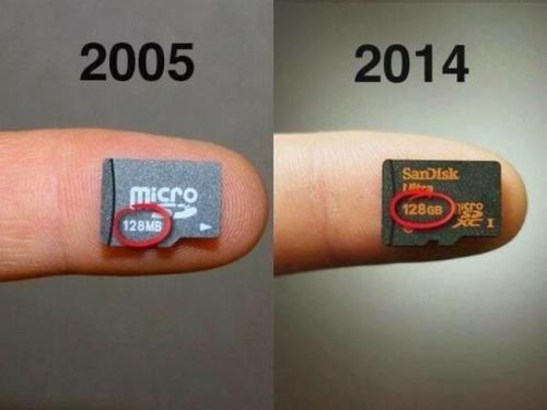 One small step for man, one giant leap for memory cards. http://t.co/X0KmEDTwGU