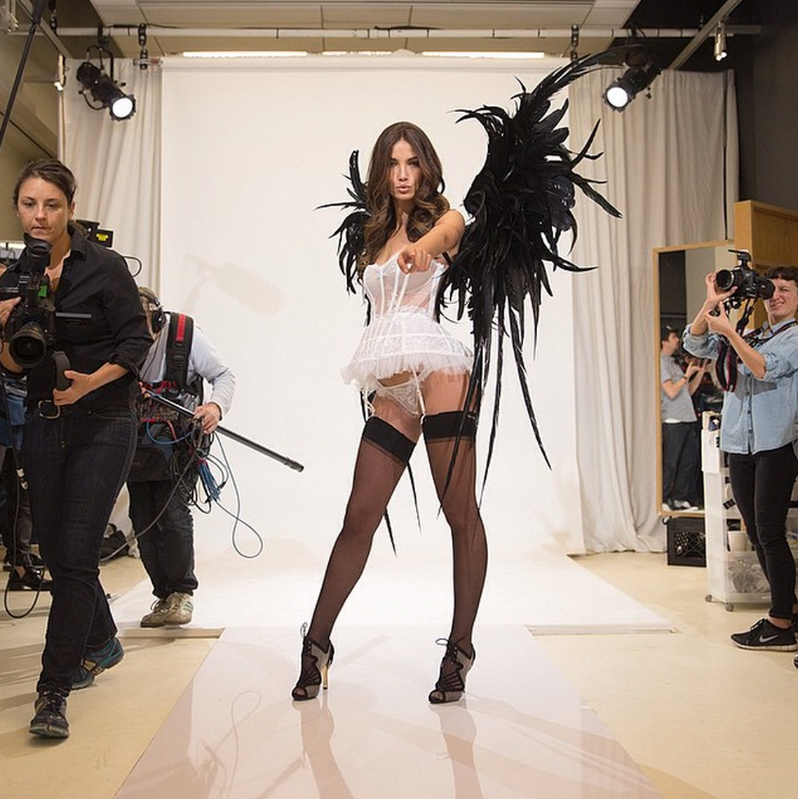 Preview: See what the Angels will be wearing on the Victoria's Secret catwalk http://t.co/Iq9tJ4sEVd #VSFashionShow http://t.co/tEPbgIkqLn