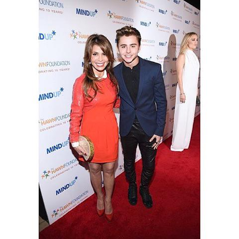 """Me &Michael Dameski at @goldiehawn's """"Love In For Kids"""" this wknd. Love her dedication to kids' education. xoP http://t.co/o2adwGcYdd"""