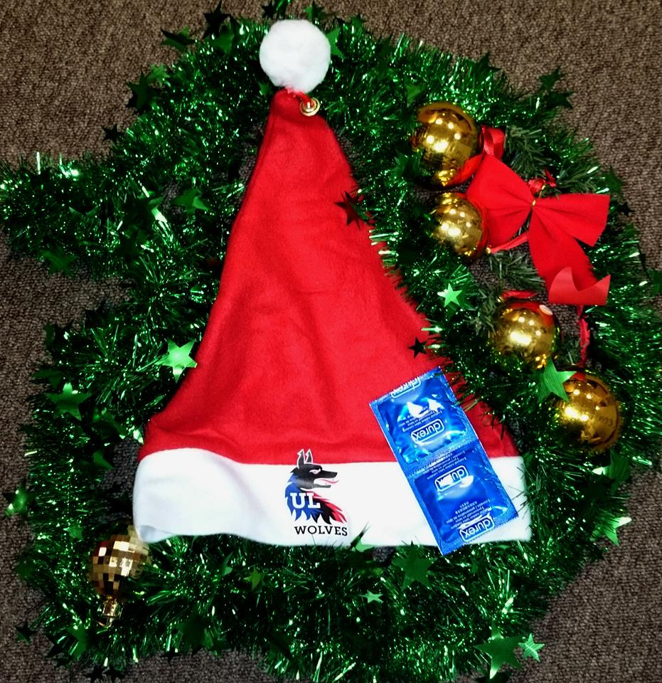 ul student life on twitter ulsu are selling santa hats with 2 durex condoms for 400 for christmas days sugotyoucovered merryshiftsmas - Christmas Condoms