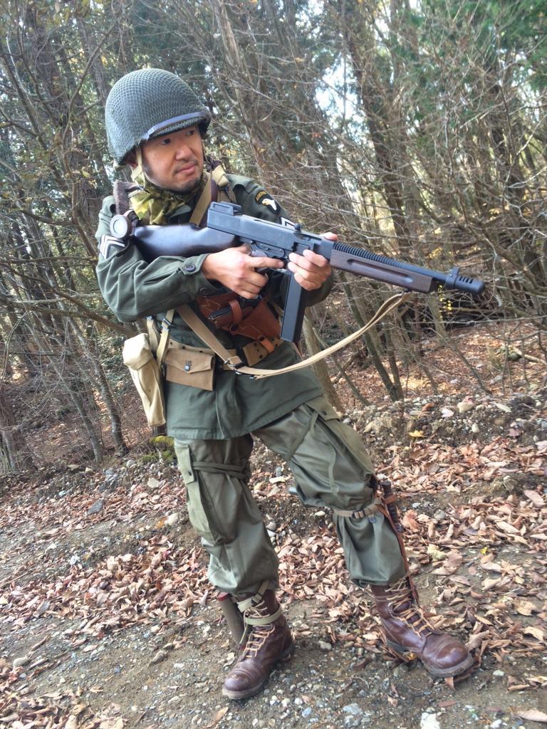 """43式ぱらやん@愛犬失踪6年目 en Twitter: """"日曜日の101空挺装備。M43 ..."""