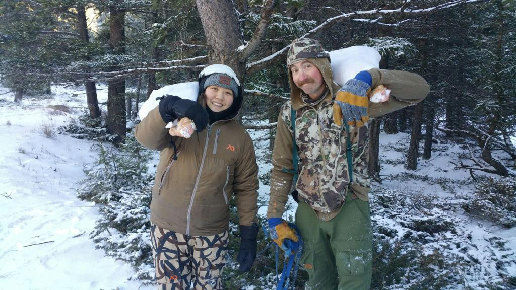 Steven Rinella On Twitter Quot Helen Cho On A Meateater Hunt
