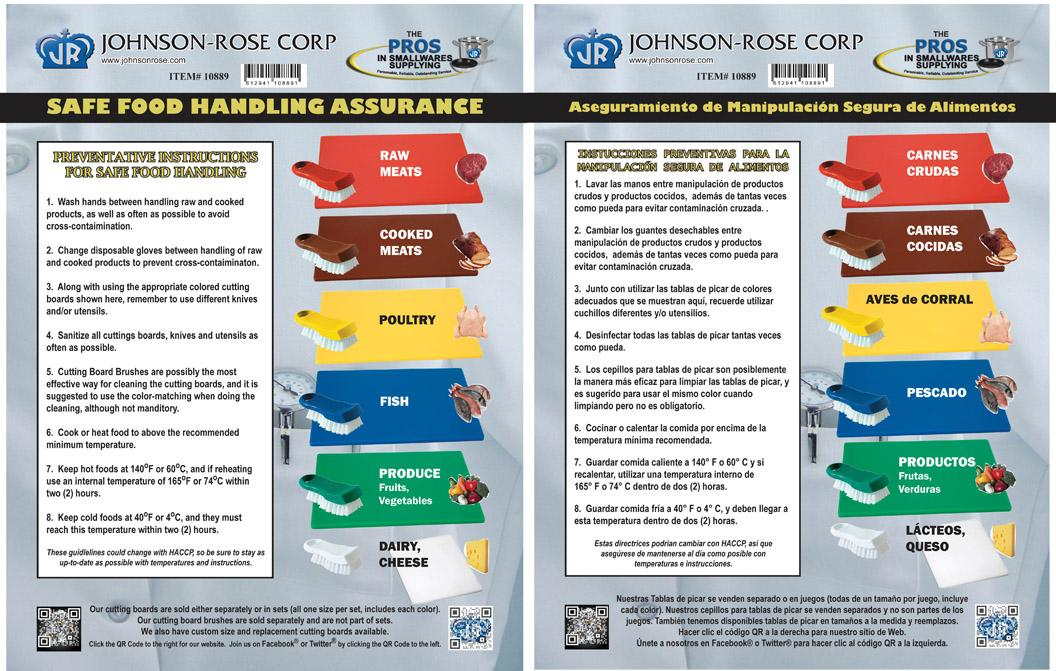 Johnson Rose Corp On Twitter Refresher Course Monday Safe Food