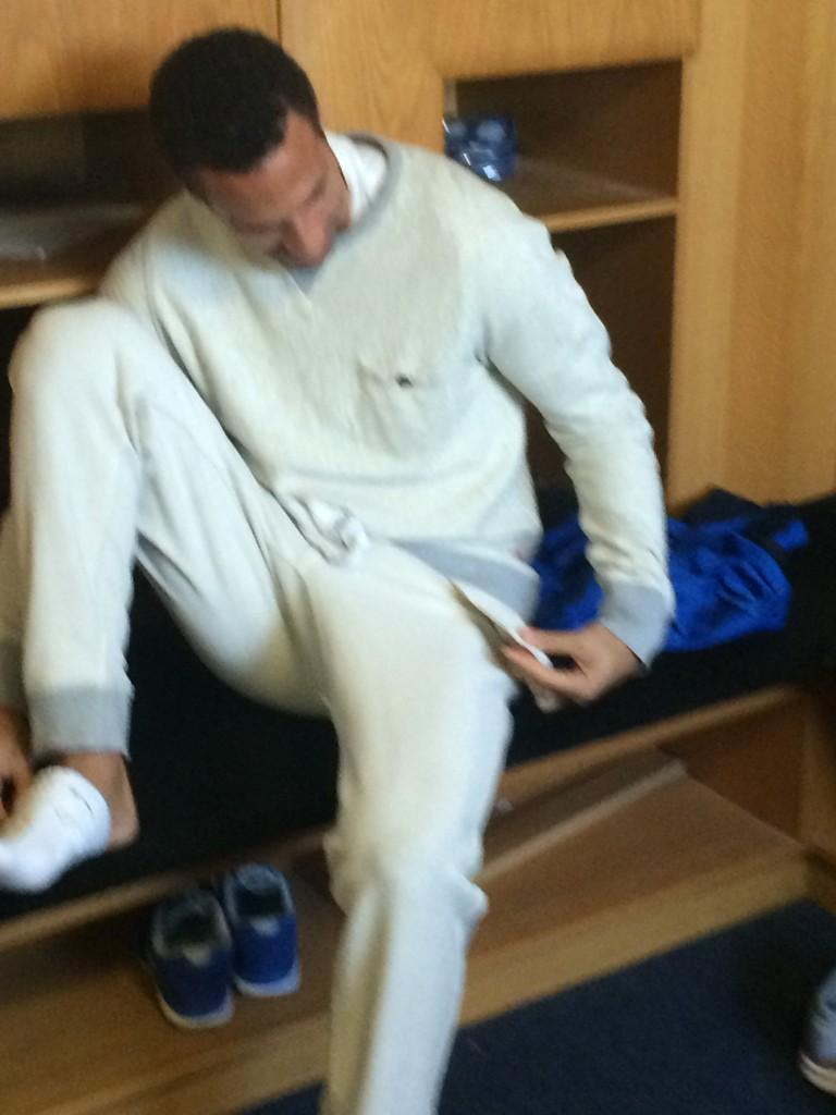 """""""@chazaustin9: What a nightmare this man had today with his gear @rioferdy5 http://t.co/UTIumQSpKW"""" > the smoothie went everywhere🙈😂"""