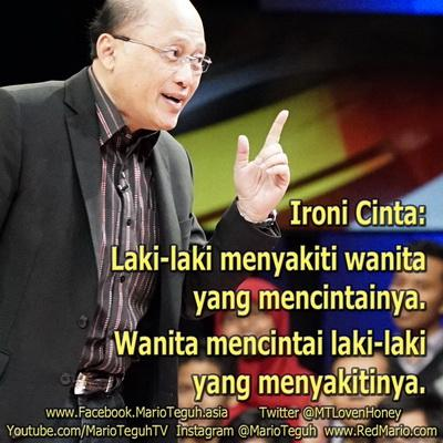 video mario teguh ironi cinta