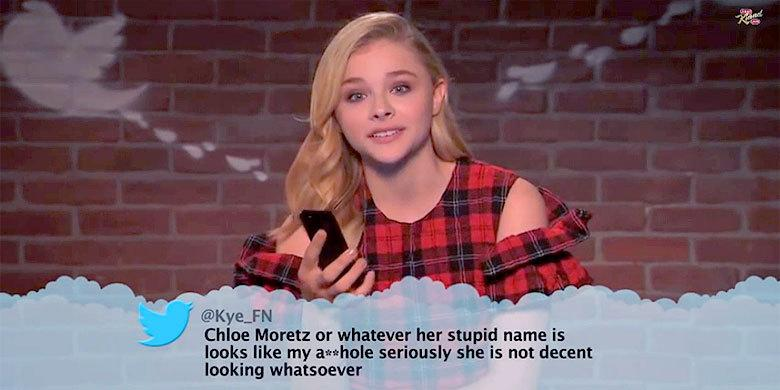 People Say Unflattering Things: 'Celebrities Read Mean Tweets #8′ On Jimmy Kimmel LIVE http://t.co/JXQhf2vCxB http://t.co/Pi6K4E3t4O