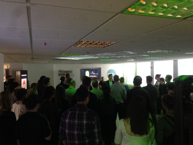 RT @mattprentis: @steveparkersmg setting up a great afternoon ahead with our media partners @SMG_London for #theheinekenexperience http://t…