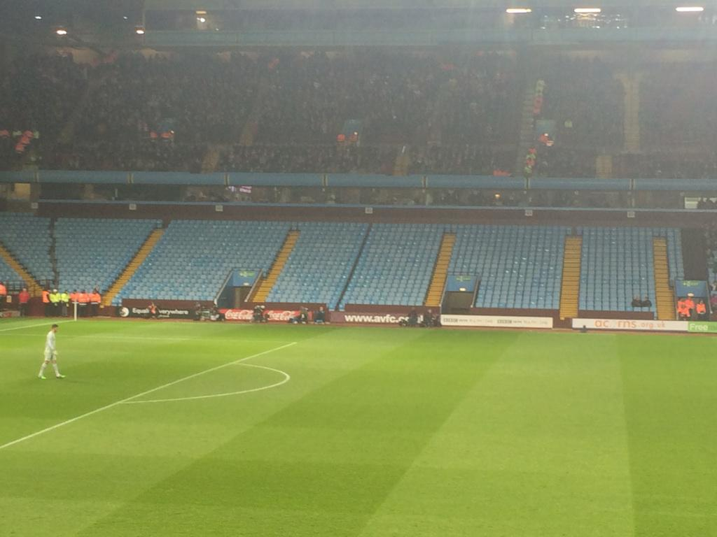 This is the result when you ask away fans to pay £41 for a game 140 miles away. http://t.co/ydFw6XGuUT