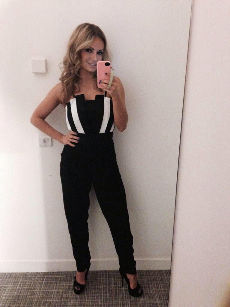 RT @MissMilne_: Gorgeous @The_OlaJordan wearing our #Stargazer jumpsuit for #ITT tonight! In store now with lots of our UK stockists. http:…