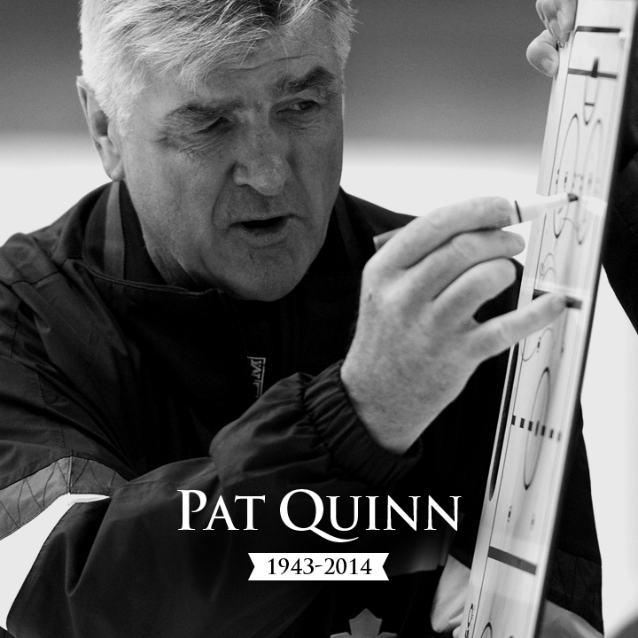 Leafs Express Condolences Following Passing Of Pat Quinn: http://t.co/QnpR71Ee7T http://t.co/gLWTRFuOnB