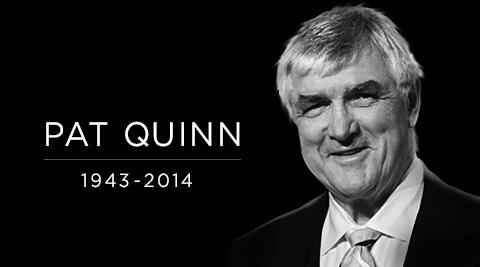 Deeply saddened by the passing of our Chairman of the Board, Pat Quinn. A good man gone too soon http://t.co/dHIhiYGKR0