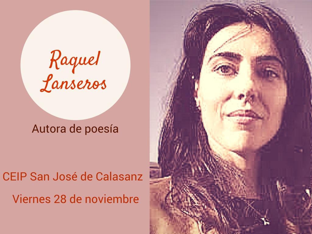 La poetisa @RaquelLanseros visita a los alumnos del CEIP San José de Calasanz #labañeza  http://t.co/aqMUx7gWGZ http://t.co/RV8rubAR21