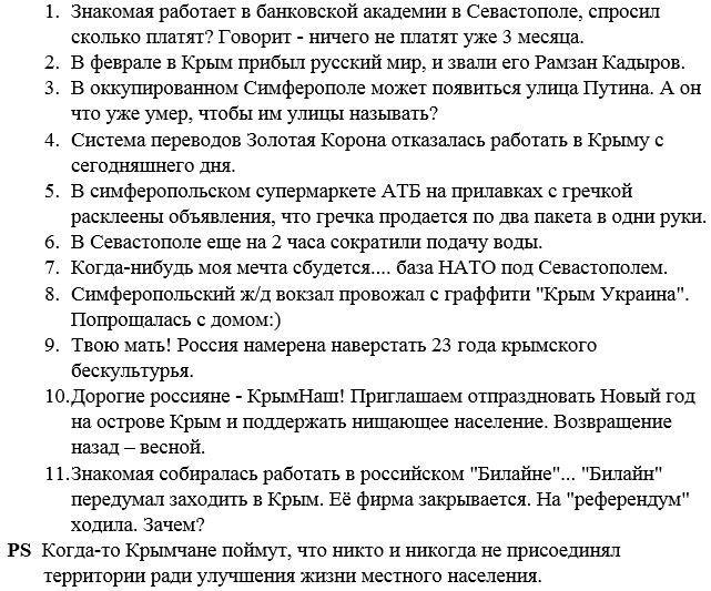 Херсонская ОГА предложила ОБСЕ совместно патрулировать границу с Крымом - Цензор.НЕТ 1363