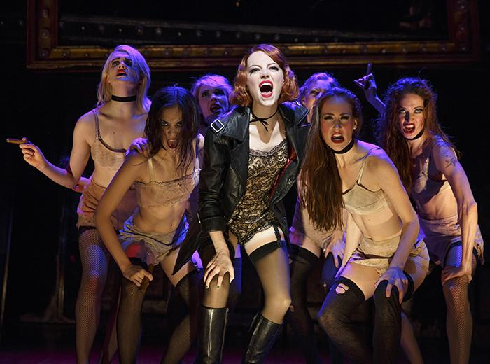 RT @playbill: Just in!  The first production pics of Emma Stone in @Cabaret_Musical! http://t.co/xbobWc5C7v http://t.co/IPaMYm9WtX