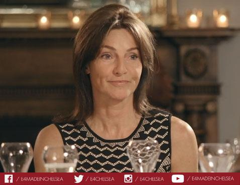 OMG! It's Louise and Sam's mother Karen! Talk about a yummy mummy! #madeinchelsea http://t.co/RNa2L86zfE