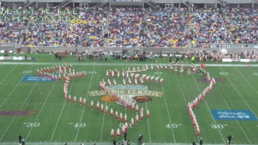 Florida A&M band uses 'Kermit drinking tea' formation http://t.co/4OuwC5s51i http://t.co/Yo25J4wvUV