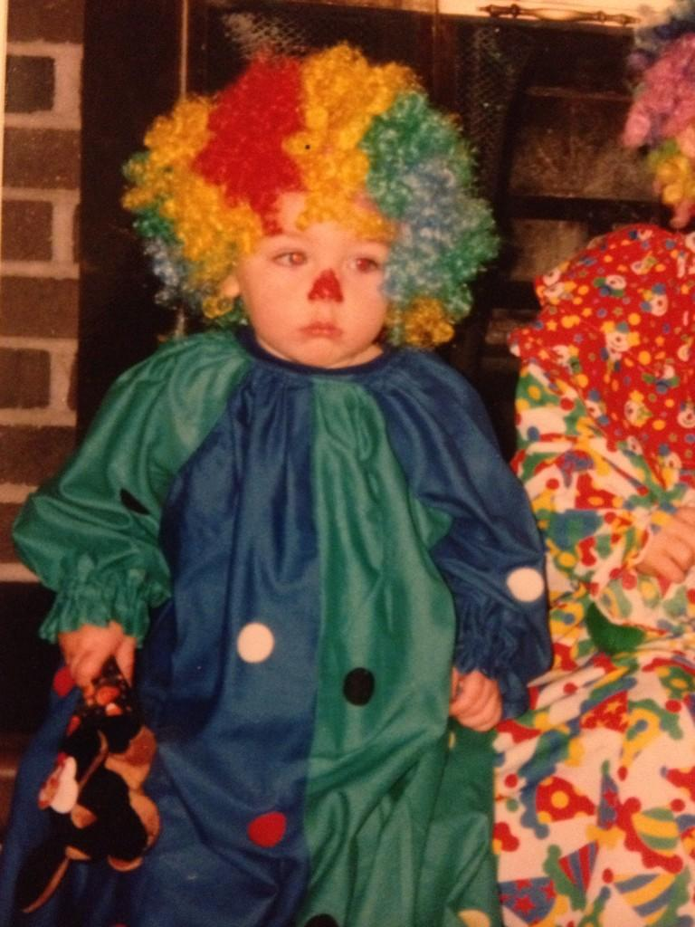 I guess I've pretty much been a clown my whole life http://t.co/WRnyhNOqvF