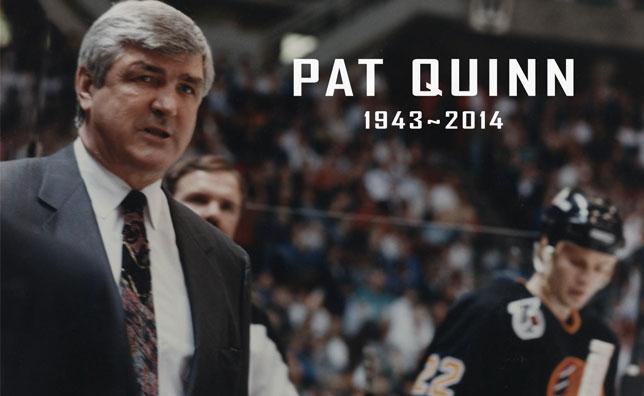 The player. The coach. The builder. #PatQuinn: Forever A Canuck. Video tribute - http://t.co/RGeQsFEOaf  #Canucks http://t.co/2EkblGTp75