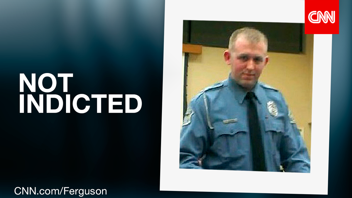 Grand jury has decided not to indict Ferguson police Officer Darren Wilson. #FergusonDecision http://t.co/n4rHuvhASS http://t.co/ujmSRdeu6a