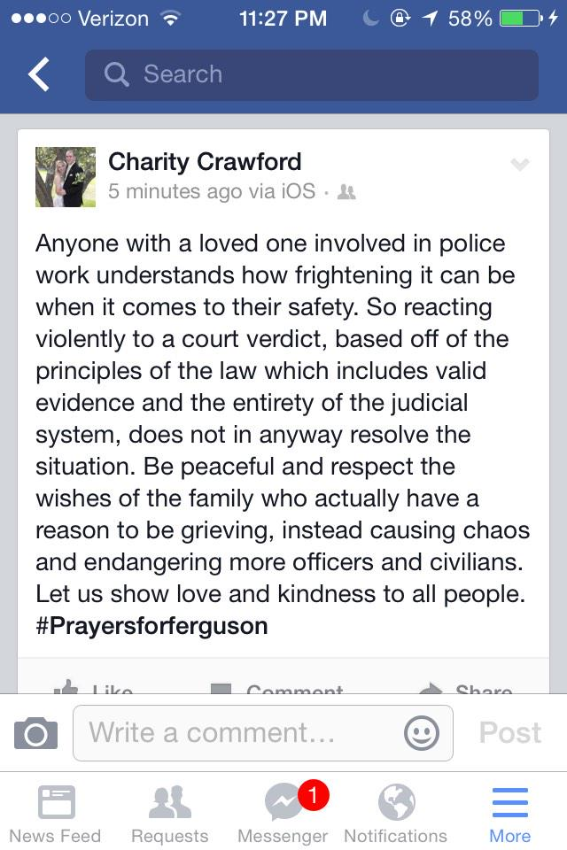 Age charity crawford Charity Crawford