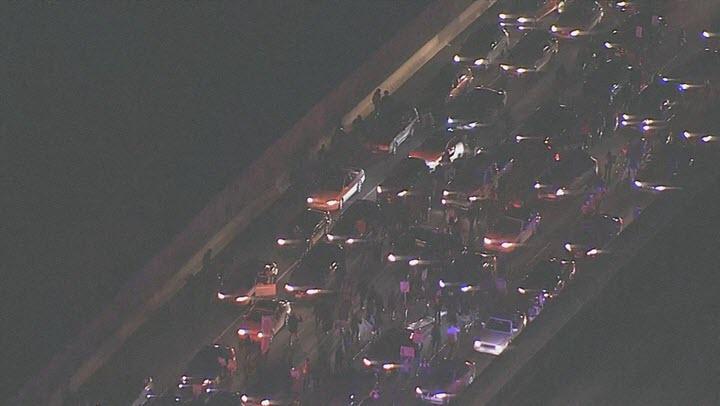 #SanFrancisco - Protesters upset over Ferguson grand jury decision marching on I-580  http://t.co/CDLK0UBv2U http://t.co/dhNhHXyDw2 - KNTV