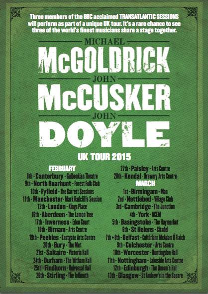 McGoldrick McCusker Doyle UK Tour 2015 please RT http://t.co/Mwm2MgcE0l